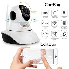 2019 1080P WiFi Mini Camera Alarm Clock IP Indoor Wireless CamPet