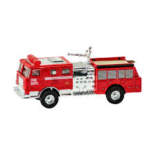100 Fire Truck Red Schylling Diecast Engine