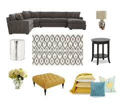 em & me Living room design board