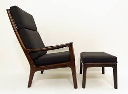 Ole Wanscher Senator Highjack Lounge Chair And Ottoman By ...