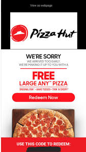 Pizza Hut Free Large Any Pizza Check Email YMMY - Slickdeals.net March Madness 2019 Pizza Deals Dominos Hut Coupons Why Should I Think Of Ordering Food Online By Coupon Dip Melissas Bargains Free Today Only Hut Coupon Online Codes Papa Johns Cheese Sticks Factoria Pin Kenwitch 04 On Life Hacks Christmas Code Ideas Ebay 10 Off Australia 50 Percent 5 20 At Via Promo How To Get Pizza