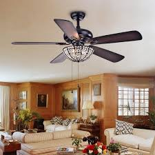 hannele bowl 3 light 5 blade black 52 inch ceiling fan free