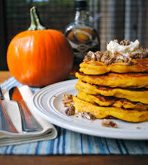 Pumpkin Mousse Trifle by Pumpkin Pancakes With Maple Cream And Candied Vanilla Pecans