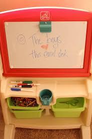 Step2 Art Easel Desk Toys by Step2 Flip U0026 Doodle Easel Desk With Stool Review U0026 Giveaway