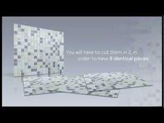 Harmony Mosaik Smart Tiles by Smart Tiles 9 85 In X 9 85 In Multi Colored Multipack Harmony