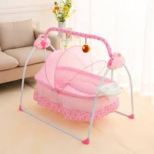 deluxe elektrisches baby schaukel stubenwagen wiege babybett babywippe babyschaukel bett kinderbett space safe krippe wiege 12 musik bluetooth mp3