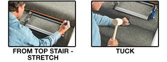 How Does A Carpet Stretcher Work by Stretchers Crain Tools