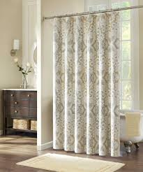Gold And White Curtains by Bathroom Brown Curtains With Curtains And Drapes Also Modern