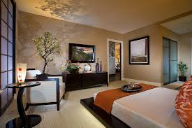 Bedroom Brilliant Ideas Of Asian Decor With Japanese Theme Also Beauteous Furniture Bed
