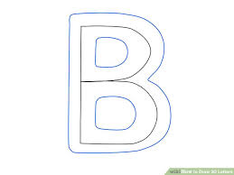 30 Ways to Draw 3D Letters wikiHow