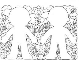 Preschool Coloring Page Pictures Print Animals Mariposa Free