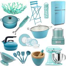 Turquoise Kitchen Utensils Decoration