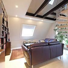 spanndecke im wohnzimmer schnell und sauber montiert mit