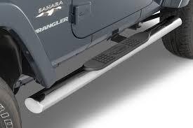 100 Side Rails For Trucks Quadratec QR4 Heavy Duty Oval Steps For 0718 Jeep Wrangler JK