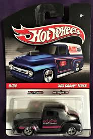 100 50s Chevy Truck 2010 Hot Wheels Slick Rides 9