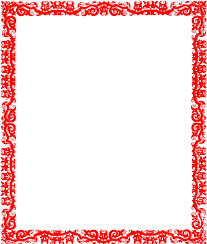 Red Border Design Clip Art At Clker
