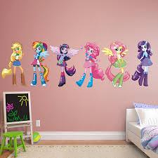 fathead baby wall decor my pony equestria collection real big fathead peel