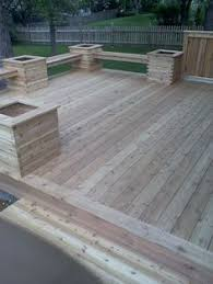 deck plan with built in benches for seating and storage free