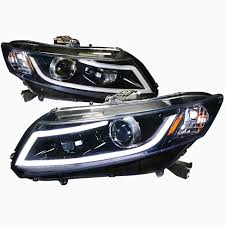 pro design black headlights for 2014 honda civic