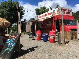 The 10 Best Food Trucks In North Shore Oahu, Hawaii Bisac Food Truck Hawaii News And Island Information Truck Covered In Graffiti Parked On The Side Of Road La Going Banas For Bann Honolu Psehonolu Pulse Famous Trucks At North Shore Oahu Usa Serving Traditional Hawaiian Poke Fusion Cuisine Geste Shrimp Mauis New Crave Hooulu Culture Home Carts Something New Kings Frolic Top 5 Maui Travel Leisure Koloa Kauai Hi September 2017 Yellow Stock Photo 719085205