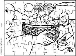 Mana From Heaven Puzzle Activity Sheet Sheets Are A Great Way To End Moses Bible