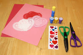 Invitation To Create Valentine Craft For Kids Using Simple Materials