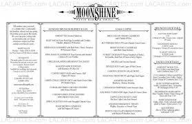Moonshine Patio Bar And Grill by 8 Of 11 Price Lists U0026 Menus U2013 Moonshine Restaurant Patio Bar