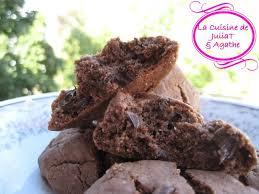 cuisine et loisirs t et agathecookies au chocolat et poudre
