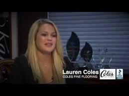 Coles Fine Flooring Santee by Lauren Coles For Bbb Youtube