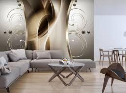 fototapete silber schnörkel mit perlen brauntöne fototapeten tapete wandbild abstrakt braun m6122