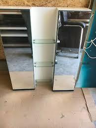 bad möbel set spiegelschrank und wäscheschrank gebraucht