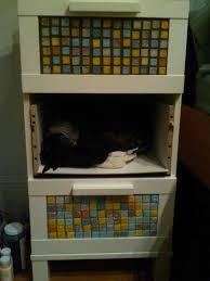 Ikea Aneboda Dresser Hack by Aneboda Goes Mosaic Ikea Hackers Ikea Hackers