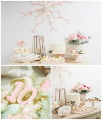 Winter Wonderland Birthday Party Via Karas Ideas KarasPartyIdeas 1