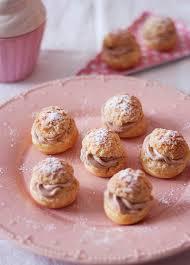 choux craquelins chantilly mascarpone pâte à tartiner