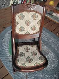 Vintage (early 1900''s) Tapestry Folding Wood Rocking Chair ... Us 3690 Vintage Fniture Modern Wood Rocking Chair For Aged People Japanese Style Recliner Easy With Armrest Pulletout Ftstoolin Garden Antique Vintage Wood Folding Rocking Chair Rocker Floral Antique Folding Antique Appraisal Instappraisal Pair Of Rope Seat Chairs Splendid Comfortable Nursing Wooden Leather Armchair Vintage Wooden Folding Chair Victorian Upholstered Redwood Lawn Scdinavian Tapiovaara