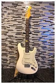 Image Is Loading Fender Artist Series John Mayer Stratocaster Olympic White
