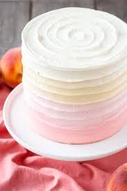 Ombre Peach Layer Cake Liv for Cake