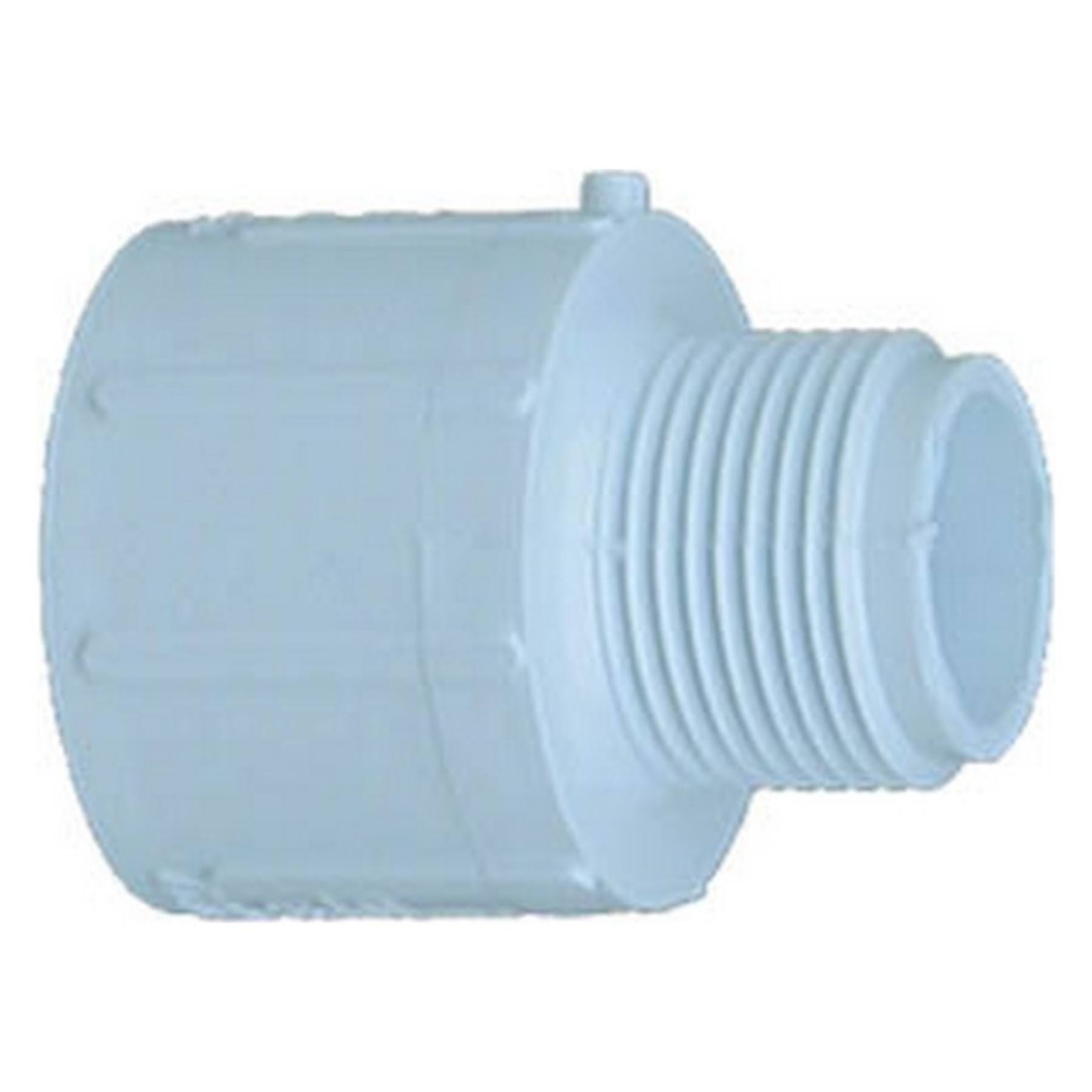 "Genova Products Male Adapter Pressure Fitting - 1"" x 3/4"""