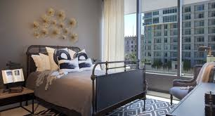 Endearing Bedroom Design Ideas With Various Modern Bed Frame Heavenly Decoration Using Black Metal