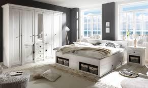 schlafzimmer komplett hooge in pinie weiß landhaus komplettzimmer mit doppelbett kleiderschrank und 2 x nachttisch