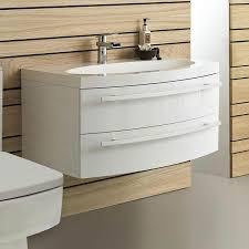 45 Inch Wall Hang Custom Commercial Cupboard Bathroom Wash Basin
