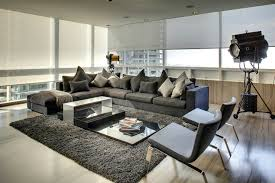 Sectional Living Room Ideas by Grey Sectional Living Room Contemporary With Dark Gray Sectional