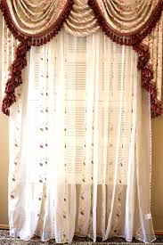Waterfall Valance Curtain Set by Bedroom Comely Ideas About Swag Curtains Tier Valance