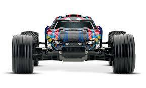Traxxas Rustler VXL Brushless 1/10 RTR Stadium Truck W/TQi 2.4GHz ...