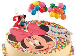 décoration gâteau minnie