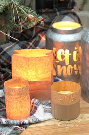 How To Make Simple Brown Paper Bag Lanterns Perfect For Winter Crafting This Easy