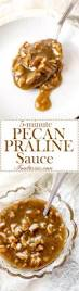 Pumpkin Pie With Pecan Praline Topping by 5 Minute Pecan Praline Sauce Foodtasia