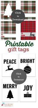 178 best Christmas Gift Tags and Printables images on Pinterest