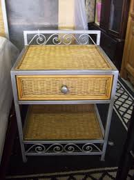 Nightstand Exceptional Furniture Consignment Pier e Wicker