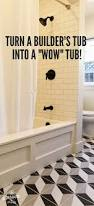 Tiling A Bathtub Skirt by Our Inexpensive Tub Trick Bath Tubs Tubs And Flipping